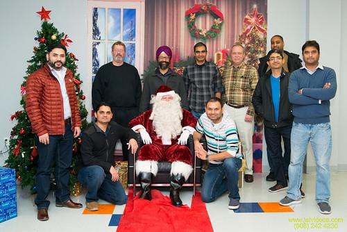 Santa at Teecs-133