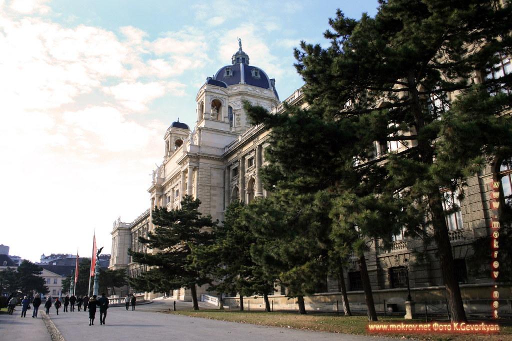 Город Вена, столица Австрии фотозарисовки