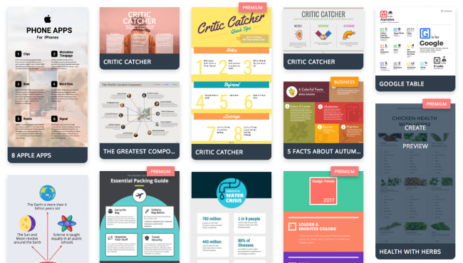 Những công cụ tạo infographic miễn phí