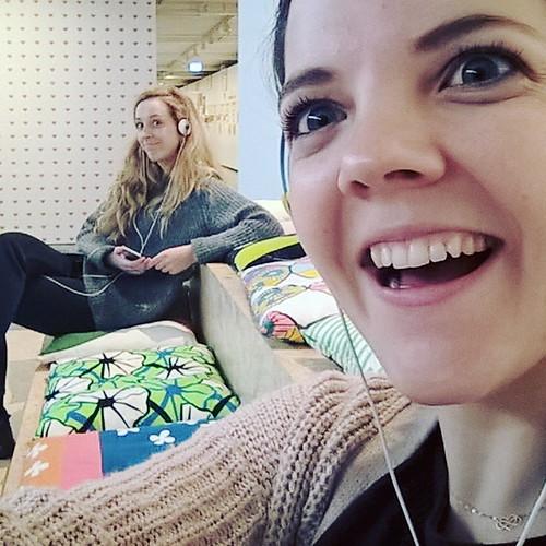 In het IKEA Museum