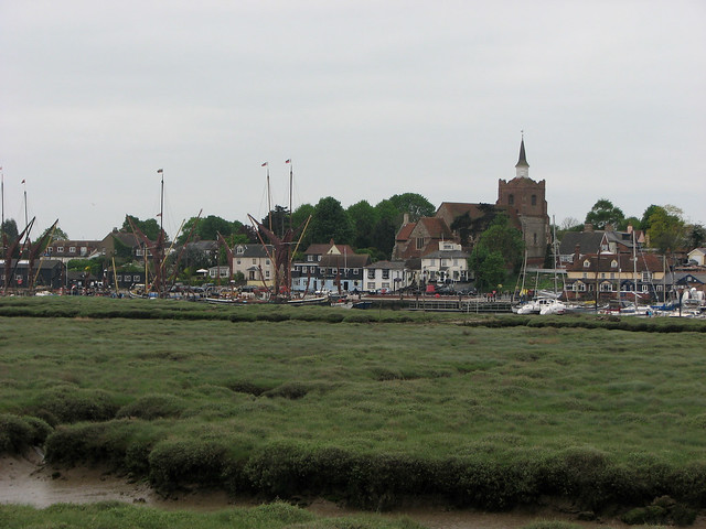 Maldon from Heybridge