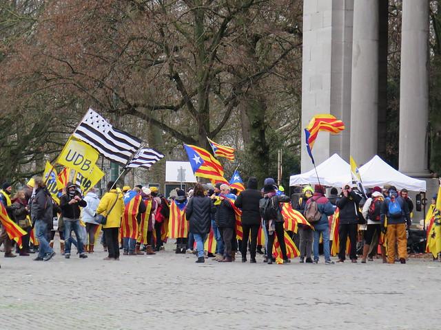 Manifestation de soutien à la Catalonie // Mario