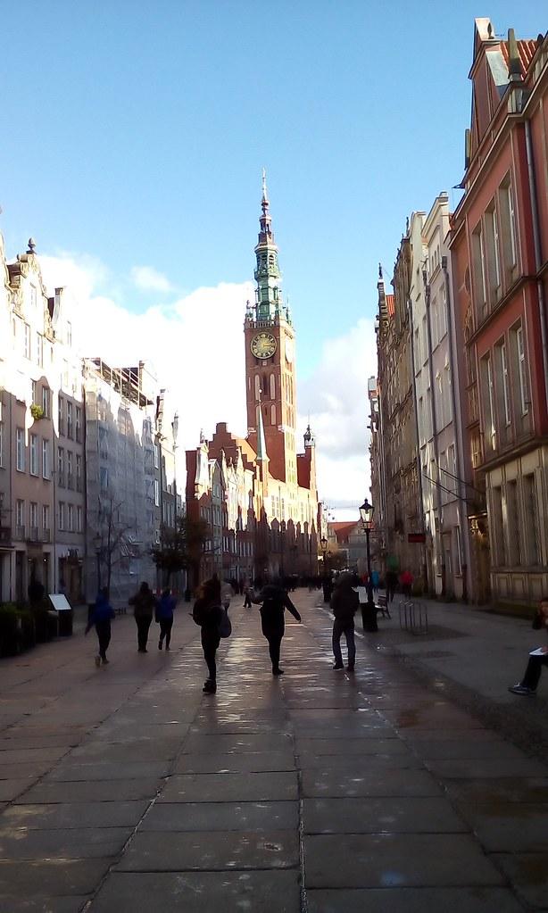 Прогулянка вільним та різнокольоровим Гданськом