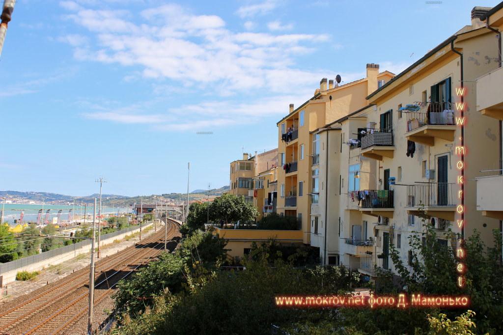 Анкона — город-порт в Италии в этом альбоме фотоработы