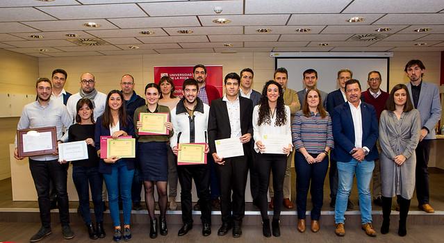 Premios a los TFG de la Facultad de Ciencia y Tecnología