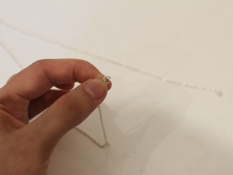 attaching jump ring