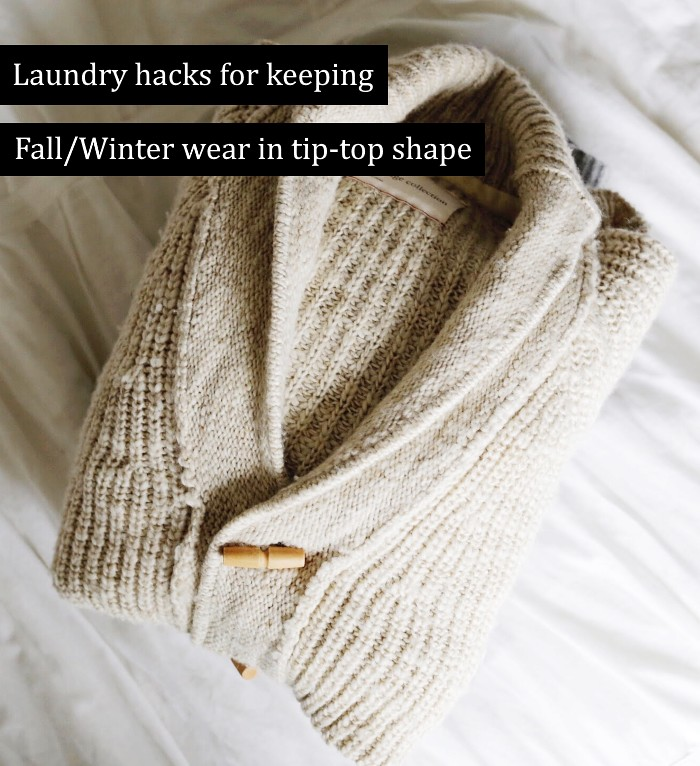 laundry hacks for keeping your wardrobe in tip-top shape