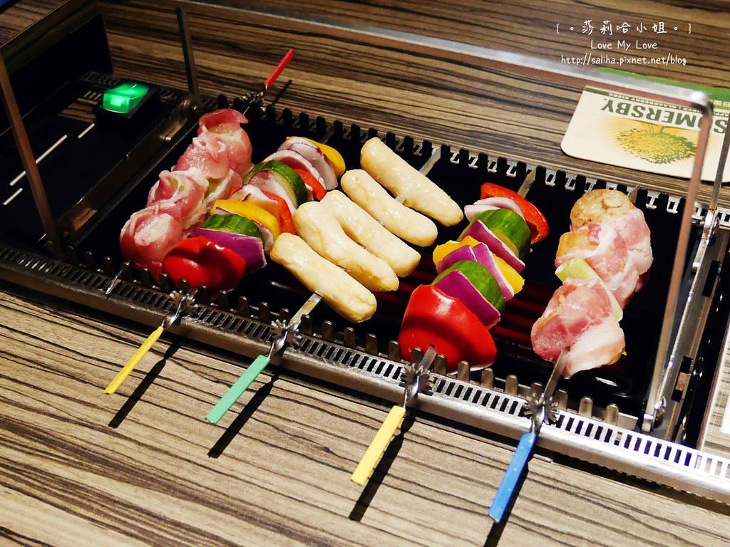 台北東區國父紀念館站談天自助燒烤串燒 (11)