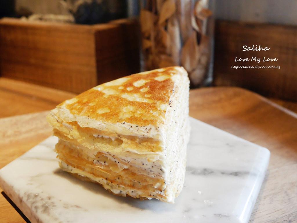 大安森林公園站附近咖啡館來吧cafe千層蛋糕