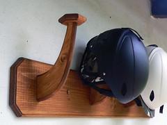 Držák na přilby - titulní fotka