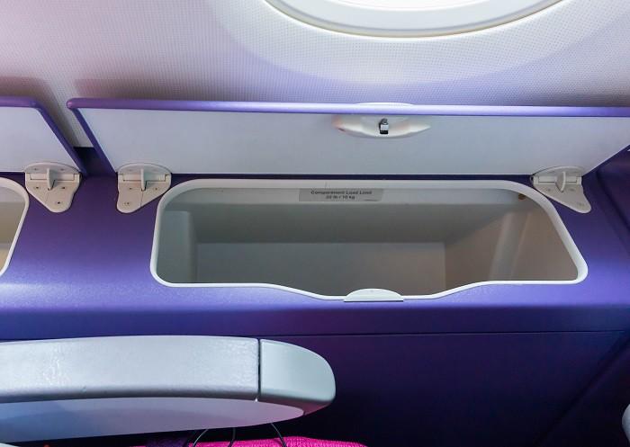 171203 タイ国際航空A380エコノミークラス2F小物入れ