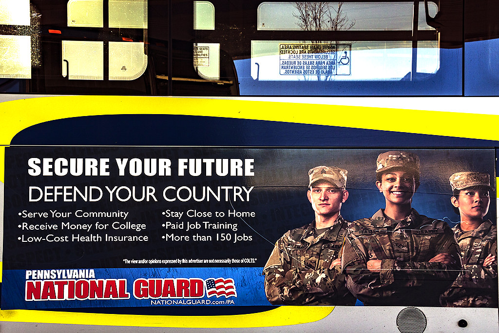 SECURE YOUR FUTURE DEFEND YOUR COUNTRY--Scranton