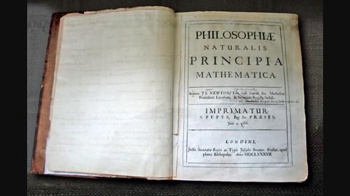 Isaac Newton's Prinicipia Mathematica