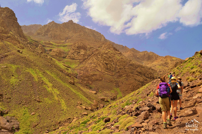 Best hiking trail in Atlas Mountains - Mt Toubkal - Top place to hike in 2018