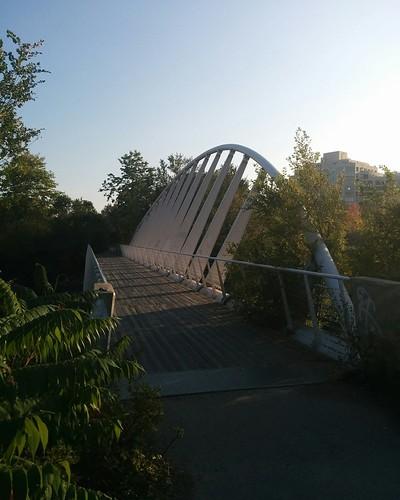 Bridge over Mimico Creek (1) #toronto #humberbaypark #mimicocreek #mimico #bridge #latergram