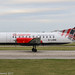G-LGNA - 1990 build Saab 340B, rolling for departure on Runway 23L at Manchester