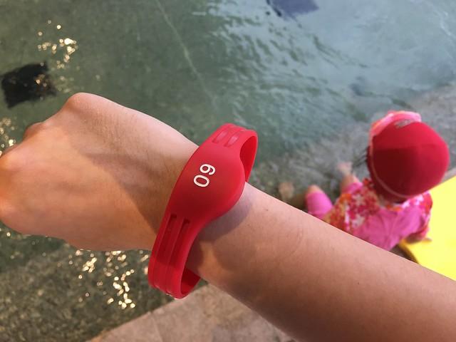置物櫃的感應電子鎖手環@宜蘭礁溪寒沐酒店