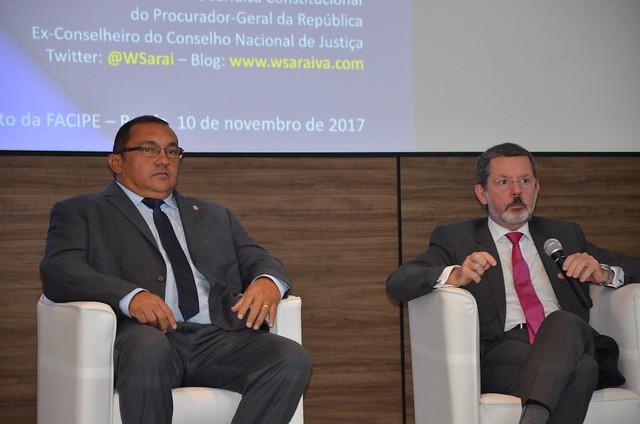 PGJ defende acordo de não persecução penal em congresso de direito