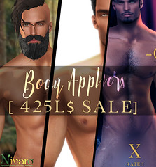 -Nivaro- Body Appliers 425 $L Sale
