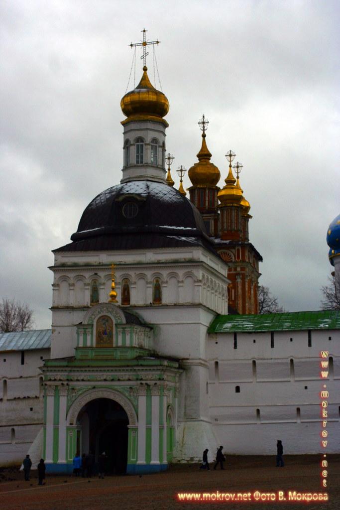 Город Сергиев Посад прогулки туристов