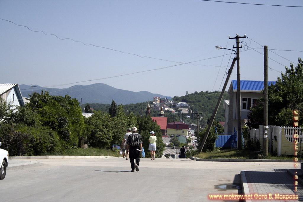 Город Архипо-Осиповка с камерой прогулки туристов