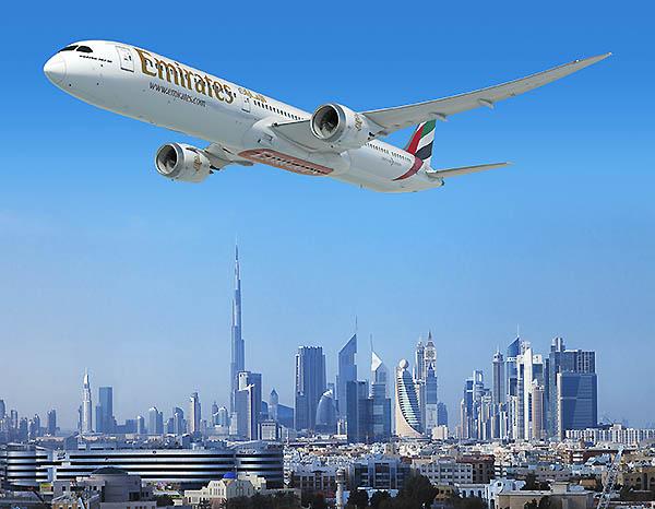 Emirates B787-10 (Emirates)