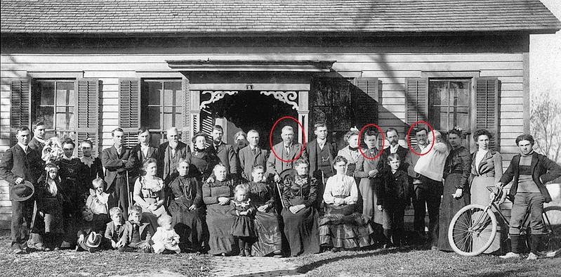 Casbon reunion 1901