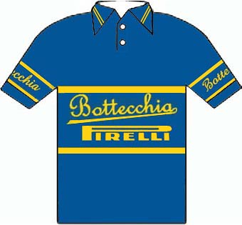 Bottecchia Pirelli - Giro d'Italia 1949