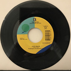 THE B-52'S:LOVE SHACK(RECORD SIDE-A)