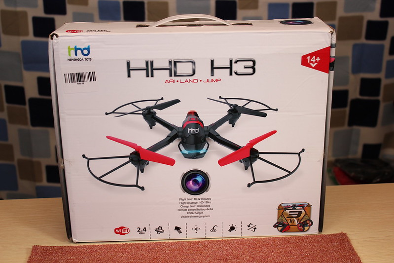 HHD H3 3 in 1 RC Quadcopter 開封編 (6)
