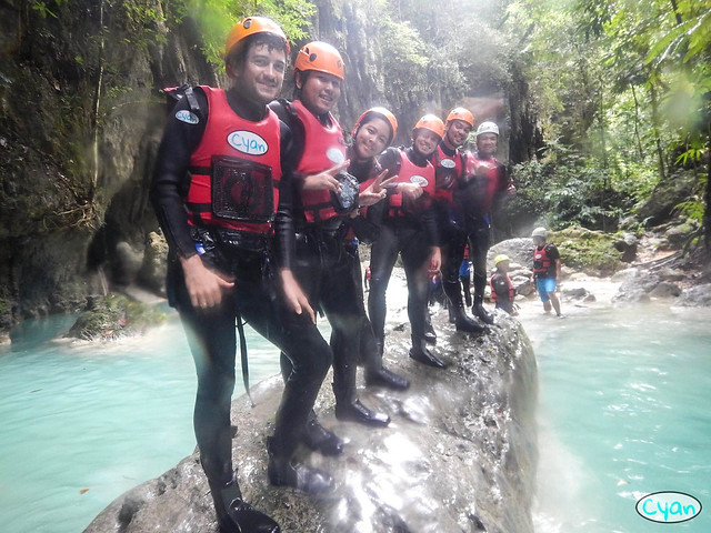 Patty Villegas - The Lifestyle Wanderer - Canyoneering - Badian - Cebu - Cyan Adventures-2