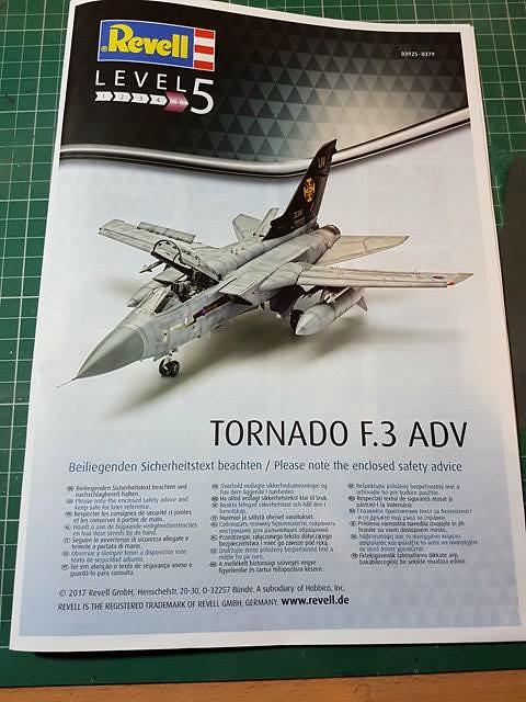 Revell 1/48 Tornado F3 instructions (03925) - Modelling Chat