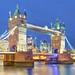 Evening at Tower Bridge, London, United Kingdom