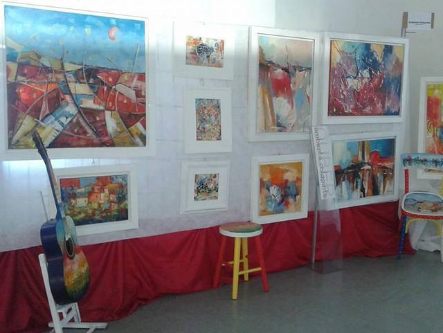 mostra di pittura cuber art