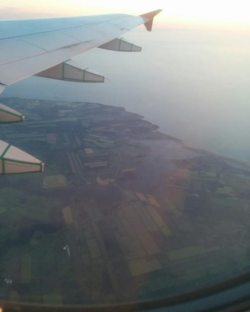 Prince Edward Island from the air (4) #pei #princeedwardisland #rusticobay #northrusticoharbour #aerial #airplane #latergram