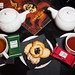 Dammann Frères teas and cookies
