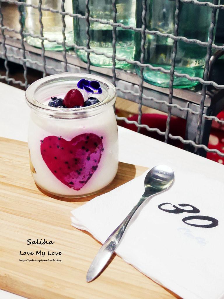 新店大坪林站美食餐廳推薦30 Thirty Cafe下午茶咖啡館