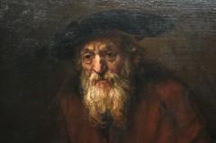 Rembrandt van Rijn - Portrait of an old Jew (1954)