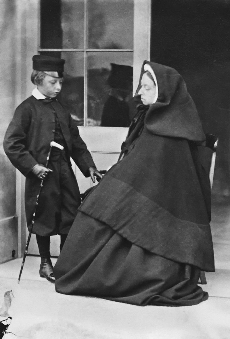 Queen Victoria and Prince Leopold, 1862