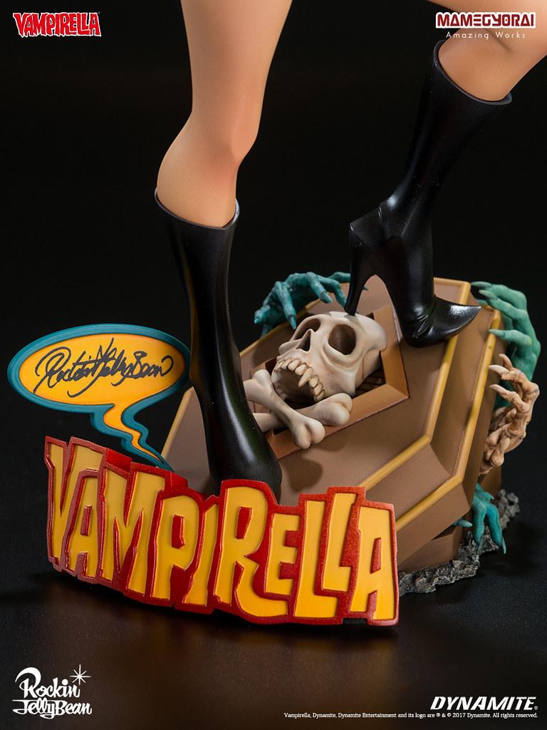 RJB 立體化第三彈!SUPER MIXTURE MODEL VOL.3《DYNAMITE vs Rockin' Jelly Bean》梵蓓娜 VAMPIRELLA