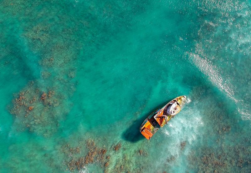 Honolulu Hawaii Shipwreck Pacific Paradise