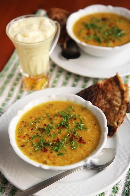Turkish Lentil Soup Ezogelin by Olga Irez
