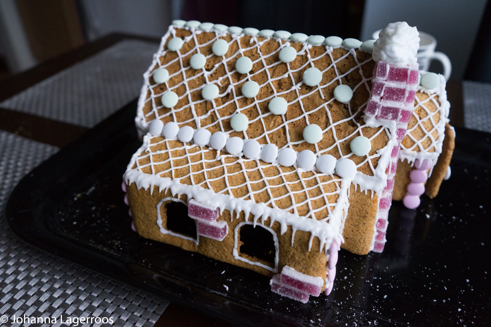 glutenfree gingerbread house