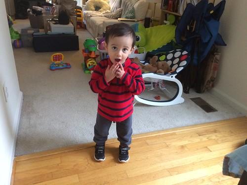 Ezra at 18 months