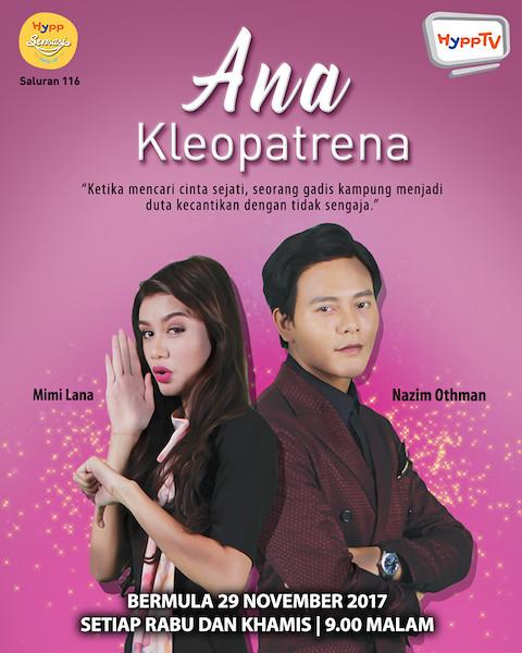 Poster Drama Ana Kleopatrena