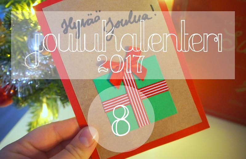 blogijoulukalenteri luukku 8
