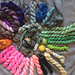 Mini skeins and leftover yarn. What to knit with them on evinok.com