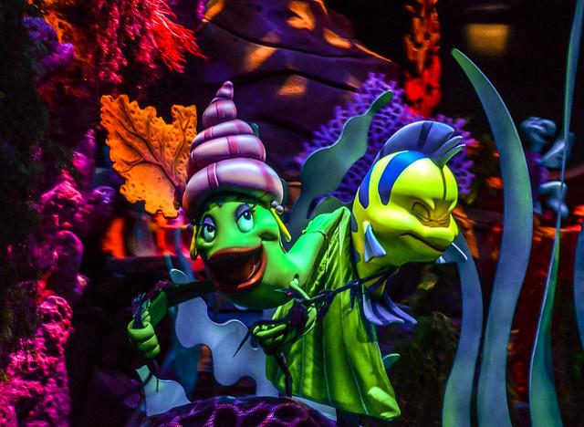 Flounder Little Mermaid MK