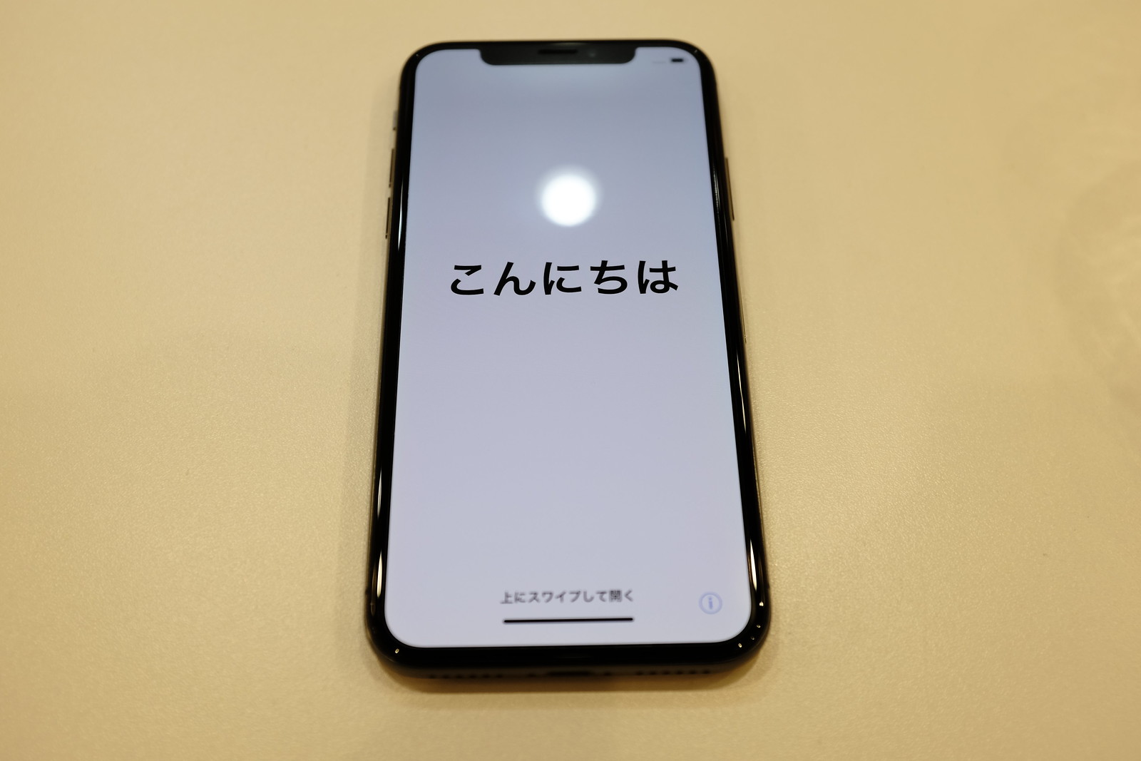 Detail of iPhone X