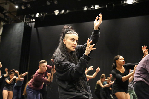 Sonya Tayeh leads master class with BFA's